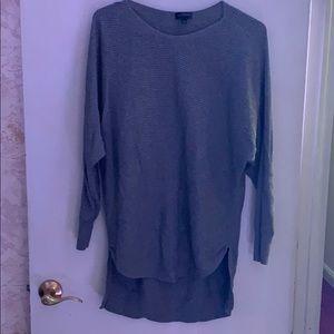 Long sleeve gray shirt size large